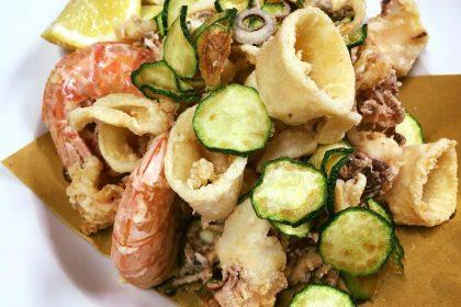 Fritto di gamberi e calamari - Stella d'Italia - Gambara
