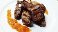 Costolette d'agnello con marmellata di peperoni - Stella d'Italia a Gambara