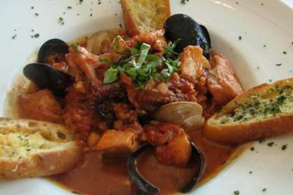 Zuppa di Pesce del Ristorante Stella d'Italia a Gambara