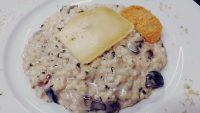 Risotto con funghi e formaggella di Tremosine del Ristorante Stella d'Italia