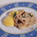 Baccalà con polenta - Ristorante Stella d'Italia di Gambara