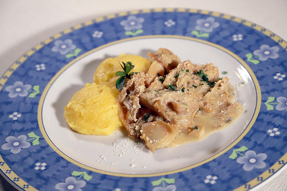 Baccalà e polenta (alla Vicentina)
