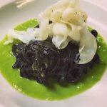 Tagliolini al nero di seppia - Ristorante Stella d'Italia